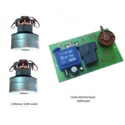 Moteur 1100 watts + carte électronique 2200 watts