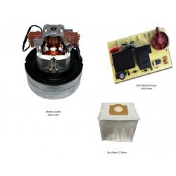 Moteurs 1400 watts + carte électronique 1350 watts