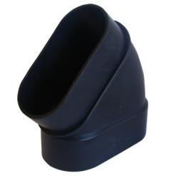 SlimLine Vac Coude 45° M-F OVALE PVC / AI9104-SC