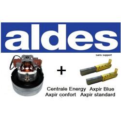 MOTEUR ALDES + CHARBONS