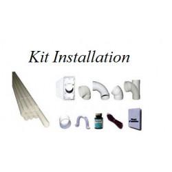 Kit installation 1 prise deco Pvc