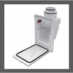 Prise hide a hose retraflex sans contre-prise pour le système de flexible rétractable