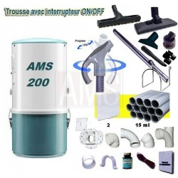AMS 200 + Flexible on-off + Kit 2 prises