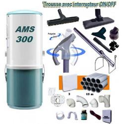 Aspiration centralisée Ams 300
