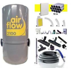 Airflow 2100w+2 prises Rétraflex 15m