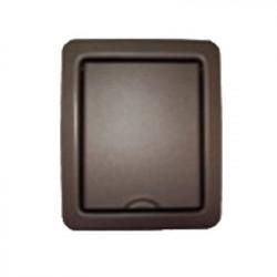 Prise acier plate Bronze