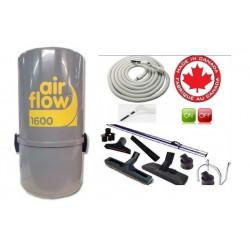 AirFlow 1600w Set de nettoyage on off / 8m + brosses