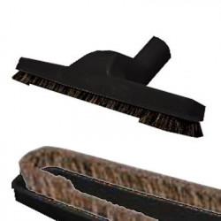 Brosse parquet et sols durs 250 mm noire