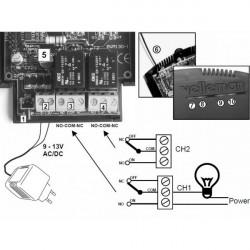 émetteur-récepteur aspirateur centralisé