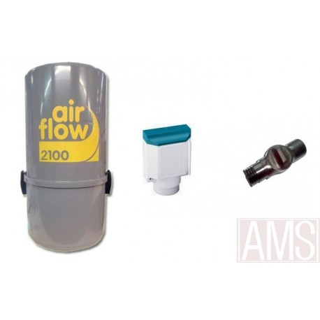 AirFlow 2100w Sans fil sonis Aspirateur centralisé