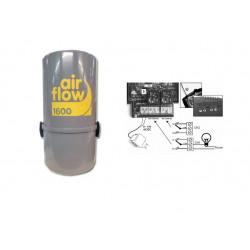AirFlow 1600w  type Aldes Aspirateur centralisé