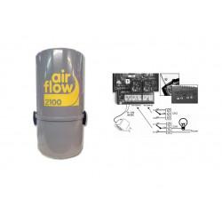 AirFlow 2100w type Aldes  Aspirateur centralisé