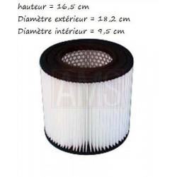 Filtre 16.5 cm  cellulos