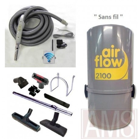 Airflow 2100w + Flex + brosses
