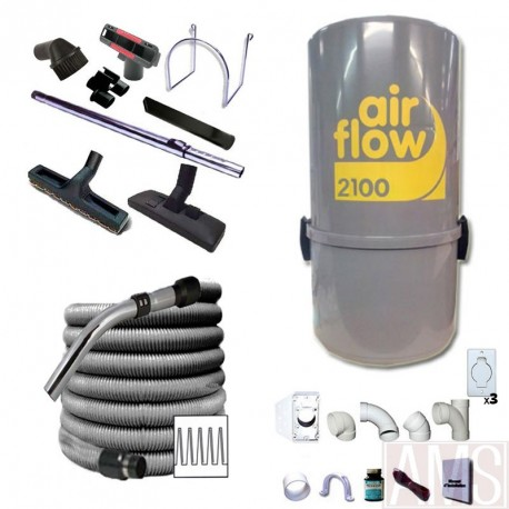 AirFlow 2100w Set de nettoyage / 9m + brosses