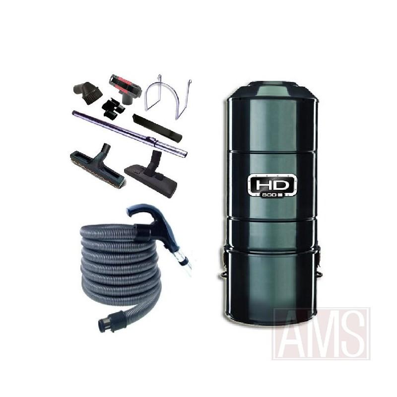 Aspirateur central sans sac sans filtre unit motrice hd801 - Filtre aspirateur sans sac ...