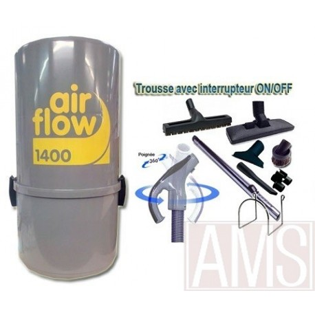 Airflow 1400W 9m ON-OFF + brosses