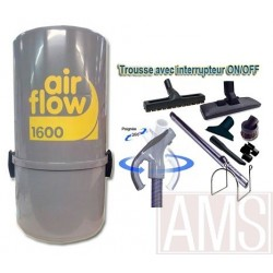AirFlow 1600w + Flex 8m ON-OFF + Brosses