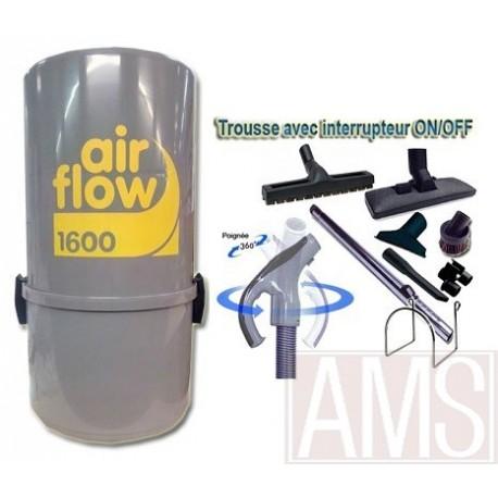 AirFlow 1600w Set de nettoyage  9m + brosses