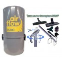 AirFlow 1600w + Flex 8m ON-OFF + Brosses