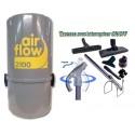 AirFlow 2100w  + Flex 9m ON-OFF + Brosses
