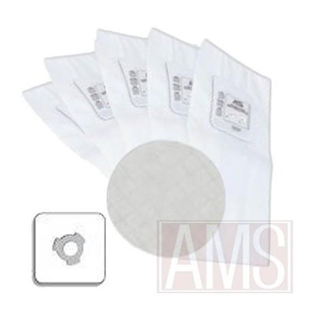 5 sacs électrostatiques à 3 crans + 1 filtre type CYCLOVAC