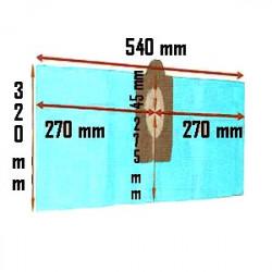 Pochette de 3 Sacs filtre papier ASPIBOX 1400 et 1500