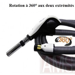 Flexible 360° aspiration centralisée on - off