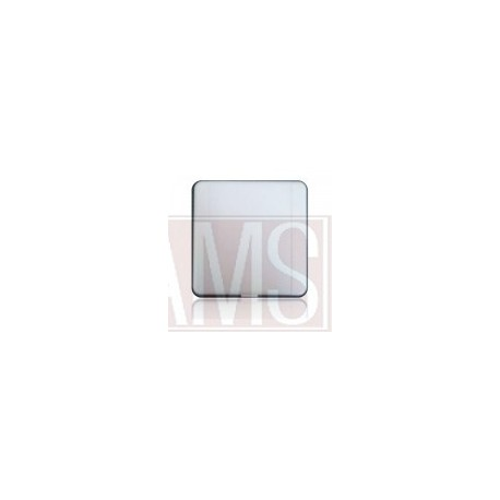 Prise carrée ATOME blanche REF A3052