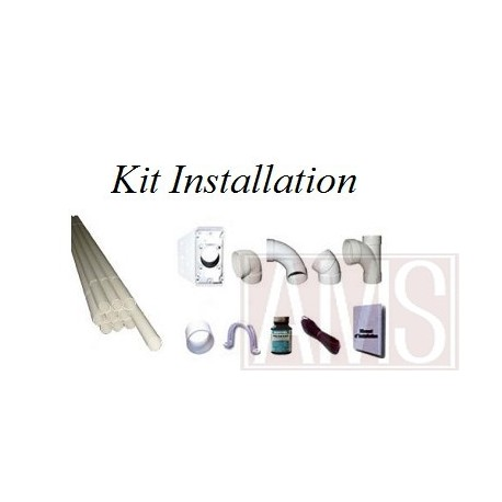 kit reseau aspiration aspirateur centralis. Black Bedroom Furniture Sets. Home Design Ideas