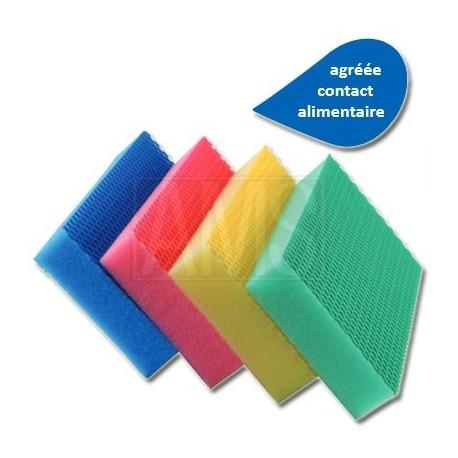 4 éponges color clean HACCP