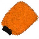 Gant microfibre orange 2 en 1