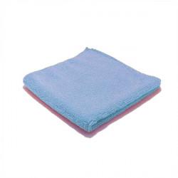 Chiffon microfibre Luxe bleue