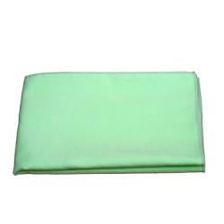 Chiffon microfibre vert