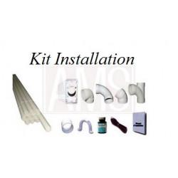 Kit installation 3 prise Pvc