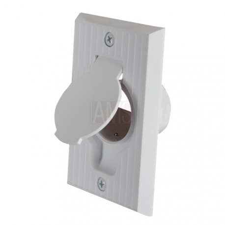 prise PVC blanche MFG 1500