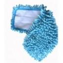 Microfibre Mop Rasta Velcro - bleu