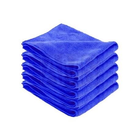 Chiffon microfibre bleue X5