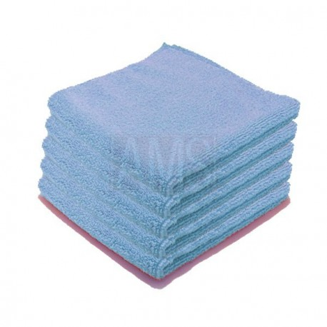 Chiffons microfibre Luxe bleue X5