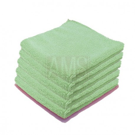 Chiffons microfibre Luxe verte X5