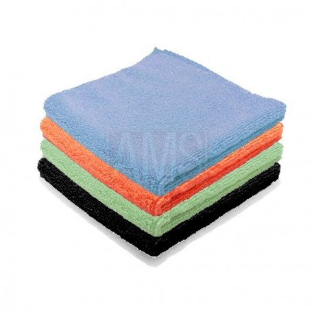 Chiffons microfibre Luxe 4 couleurs