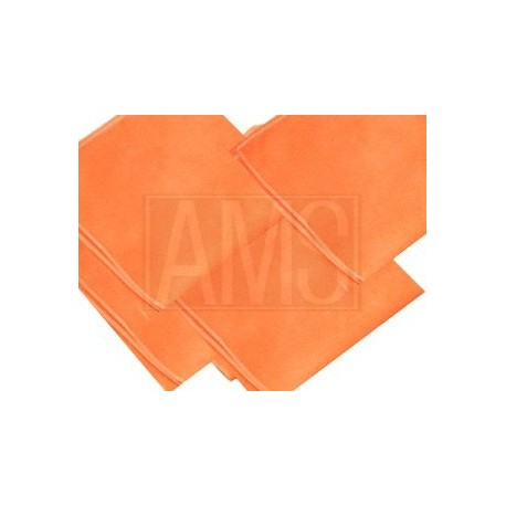 Chiffons microfibre Orange Lot de 10