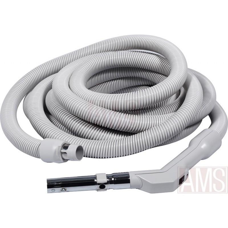 pack flexible tube brosse luxe support aspirateur centralis. Black Bedroom Furniture Sets. Home Design Ideas