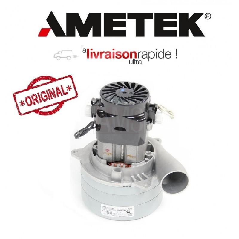 moteur aspiration 117123 00 lamb ametek aspirateur centralis. Black Bedroom Furniture Sets. Home Design Ideas