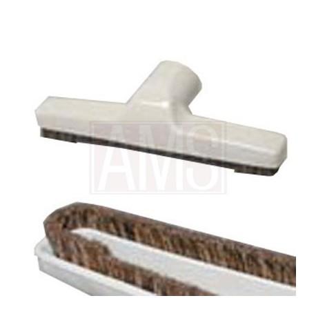 Brosse parquet et sols durs 250 mm noire ou blanche