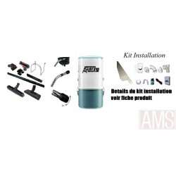 Pack 200 avec flexible commande directe installation 1 prise
