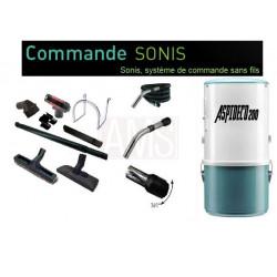 100m² Pack 200 avec flexible commande directe + sonis sans fil
