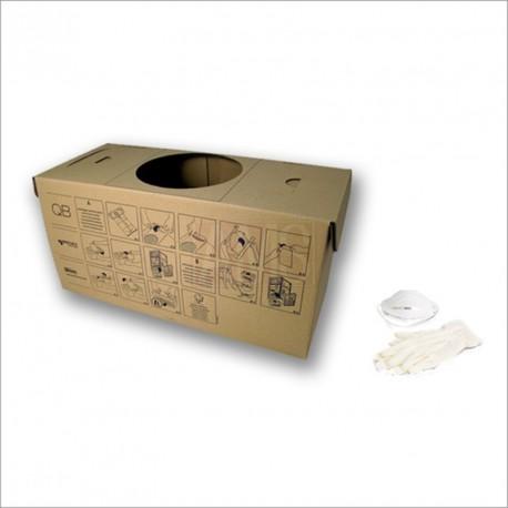 Bac à poussières en carton écologique CM814Q