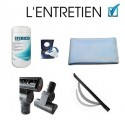 Pack lingette + accessoires + microfibre