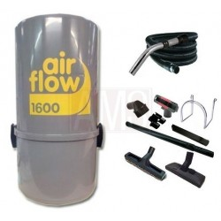 AirFlow 1600w Set de nettoyage  flexible + brosses